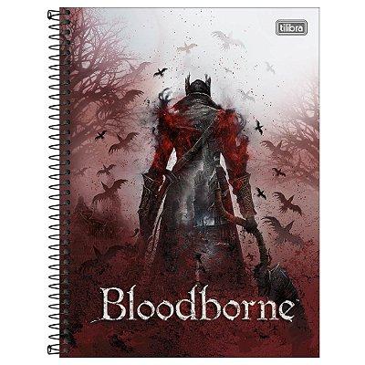 Caderno Bloodborne - Nevoeiro - 80 Folhas - Tilibra