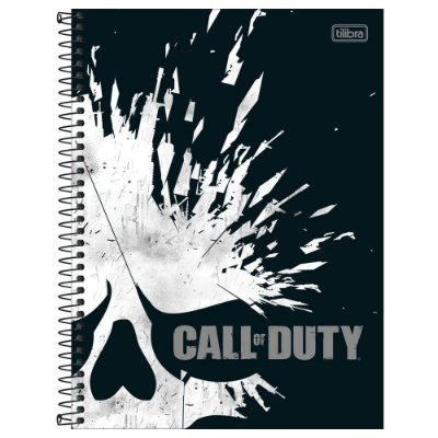 Caderno Call of Duty - Fragmentos - 80 Folhas - Jandaia