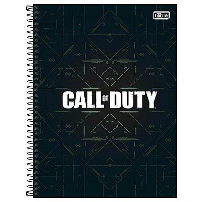 Caderno Call of Duty - Código - 80 Folhas - Jandaia