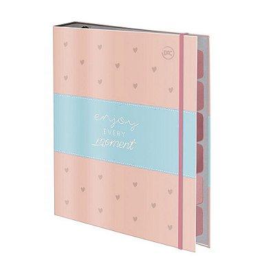 Caderno Argolado Pequeno Enjoy - 6 Matérias - DAC