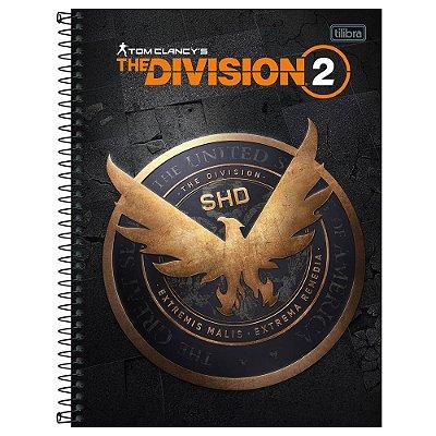 Caderno The Division - SHD - 160 Folhas - Tilibra