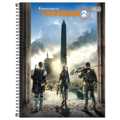 Caderno The Division - Pandemia - 160 Folhas - Tilibra