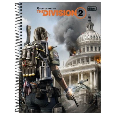 Caderno The Division - Destruction - 160 Folhas - Tilibra