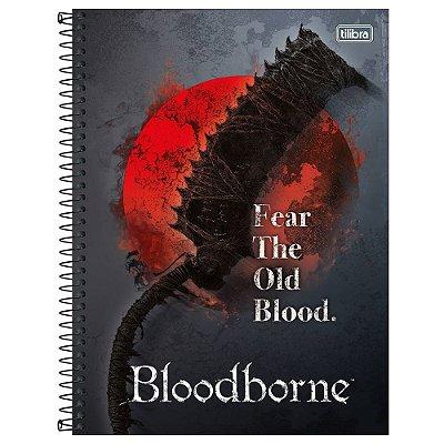 Caderno Bloodborne - Saw Cleaver - 160 Folhas - Tilibra