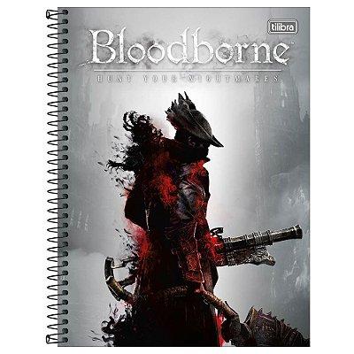 Caderno Bloodborne - Blunderbuss - 160 Folhas - Tilibra