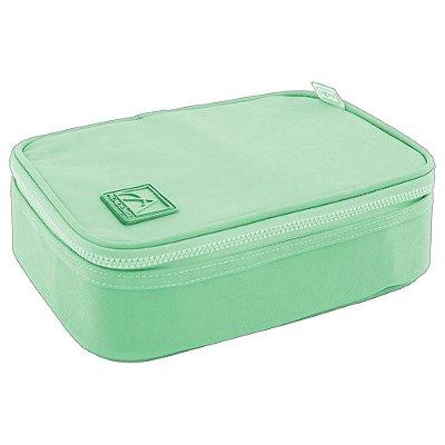 Estojo Box Académie Verde Pastel - Tilibra