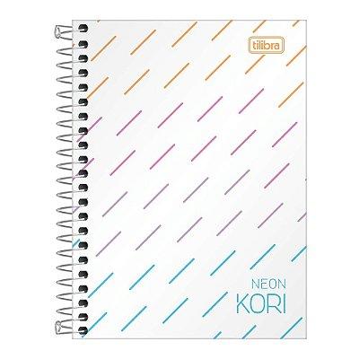 Caderno Pequeno Neon Kori - 80 Folhas - Tilibra