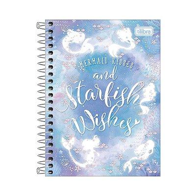 Caderneta Wonder - Starfish Wishes - 80 Folhas - Tilibra