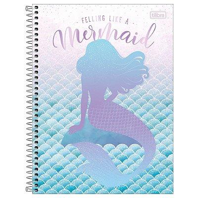 Caderno Wonder - Mermaid Life - 256 Folhas - Tilibra