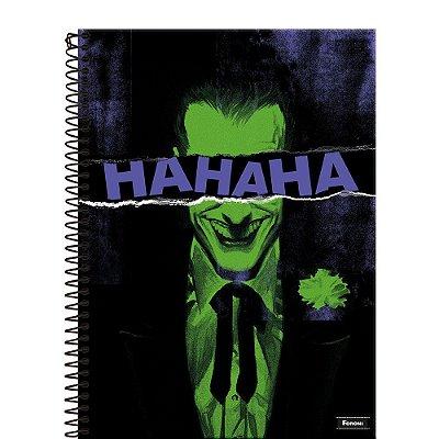 Caderno Batman 80 Years - Coringa - 96 Folhas - Foroni