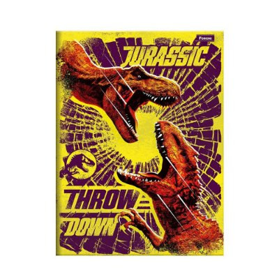 Caderno Pequeno Jurassic World - Throw Down - 96 Folhas - Foroni