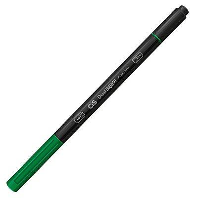 Marcador Artístico Dual Brush Verde - Cis
