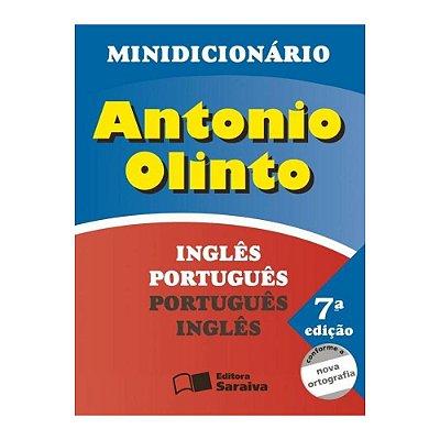 Minidicionário 7 Edição Inglês Português - Português Inglês - Saraiva