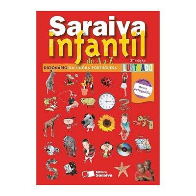 Dicionário Infantil da Língua Portuguesa Ilustrado - Saraiva