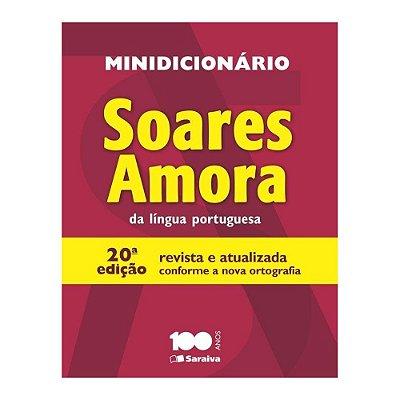Minidicionário Soares Amora Língua Portuguesa - 20ª Edição - Saraiva