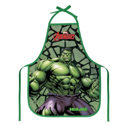 Avental Escolar Infantil - Hulk - DAC