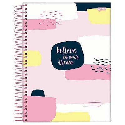 Caderno Petit de La Creme - Believe - 96 folhas - Jandaia
