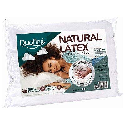 Travesseiro Natural Látex Extra Alto - Duoflex