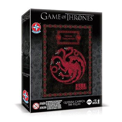 Quebra-Cabeça Game Of Thrones - 500 Peças - Estrela