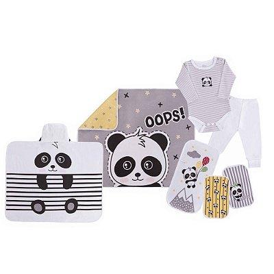Baby Kit Solzinho Panda 7 peças - Colibri