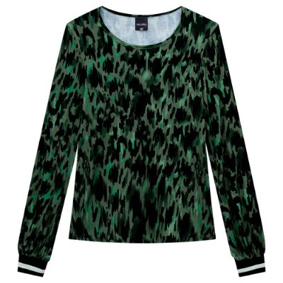 Blusa Manga Longa com Punho - Verde - Malwee
