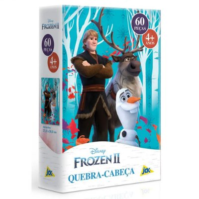 Quebra-Cabeça Frozen 2 - 60 peças - Toyster