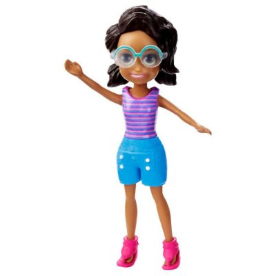 Polly Pocket - Shani - Regata Listrada - Mattel