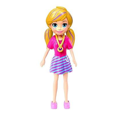 Polly Pocket - Polly - Vestido Rosa - Mattel