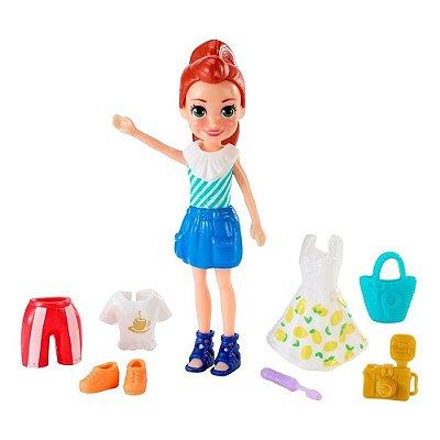 Kit Polly Pocket Boa Viagem - Lila - Mattel