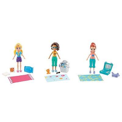 Kit Polly Pocket Festa do Pijama - Mattel
