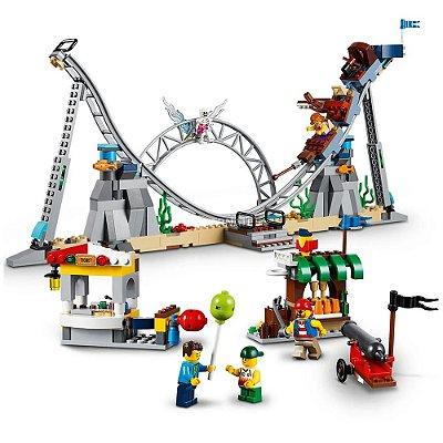 Lego Creator 3 em 1 - Montanhas-Russas de Piratas - Lego