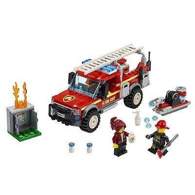 Lego City - Caminhão do Chefe dos Bombeiros - Lego