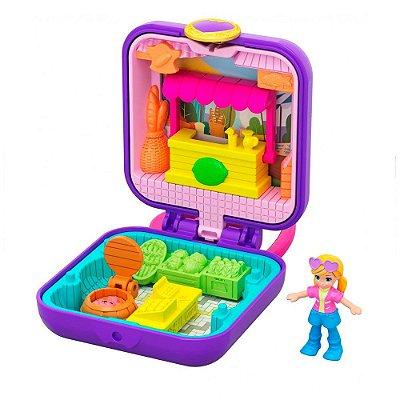 Polly Pocket Estojo Pequenos Lugares - Dia de Sol - Mattel