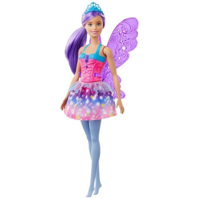 Barbie Dreamtopia Fada - Cabelo Roxo - Mattel