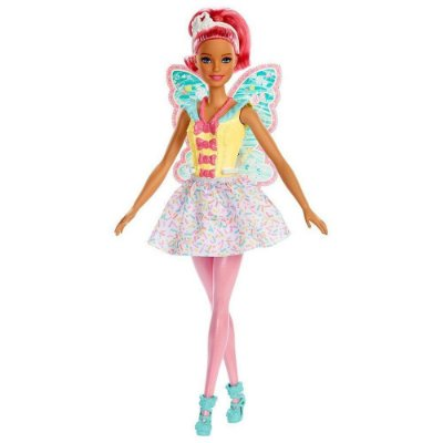Barbie Dreamtopia Fada - Cabelo Rosa - Mattel