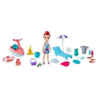 Polly Pocket - Aventura Na Praia - Lila - Mattel