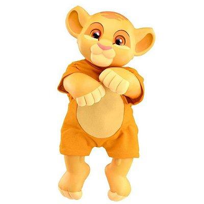 Boneco Rei Leão - Simba Baby - Roma