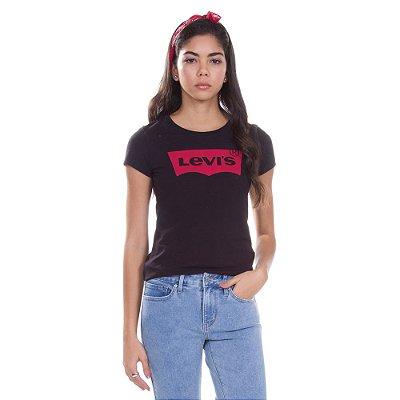 Camiseta Logo Batwing Classic Preto - Levi's