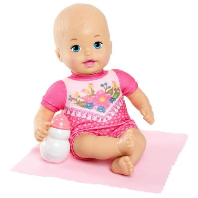 Boneca Little Mommy - Recém Nascida Rosa - Mattel