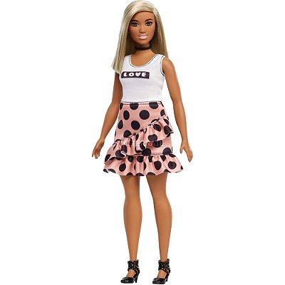 Barbie Fashionista Curvy Poá 111 - Mattel