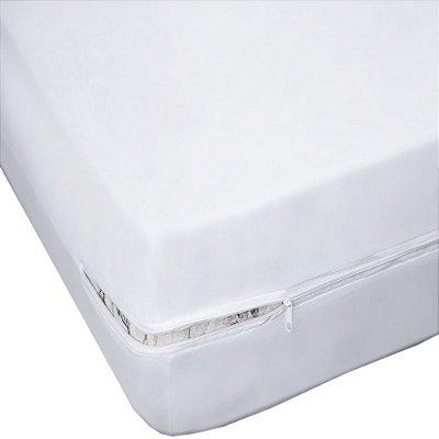 Capa Para Colchão Em Malha Solteiro - Sonhos & Anjos - Branco - Sulbrasil