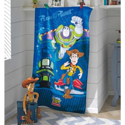 Toalha de Banho Aveludada Toy Story - Missão - Döhler