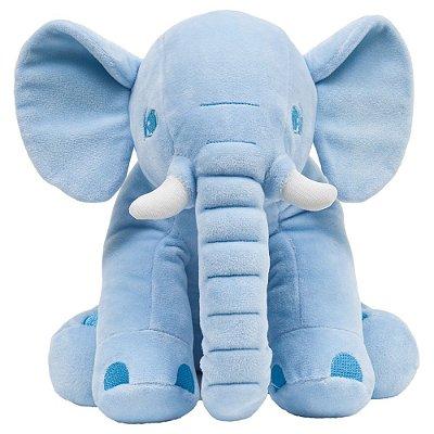 Pelúcia Elefante Azul - Buba