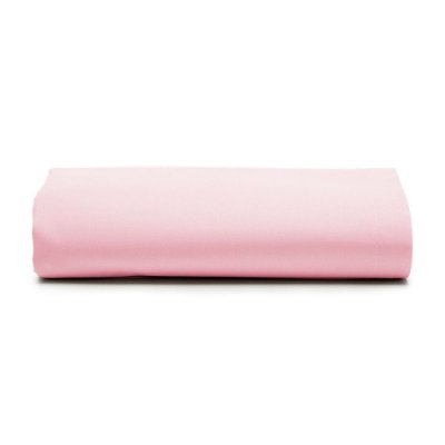 Lençol Com Elástico Prata Solteiro - Rosa - Santista
