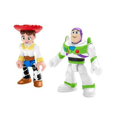 Imaginext Toy Story - Buzz e Jessie - Fisher-Price