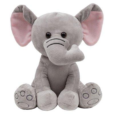 Pelucia Elefante Cinza - Buba