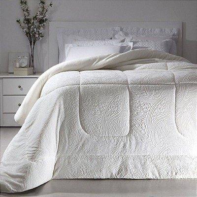 Edredom Dupla Face Duo Blanket Casal - Fend Dove - Kacyumara