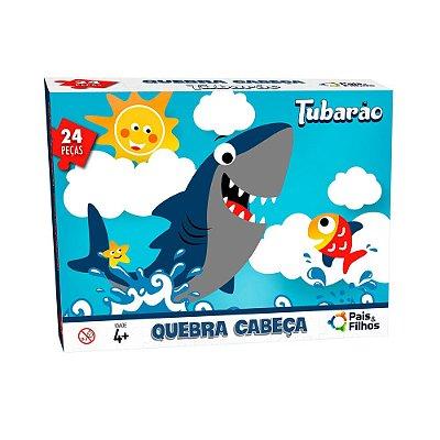 Quebra-Cabeça 24 Peças - Tubarão - Pais & Filhos