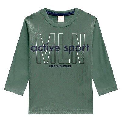 Camiseta Manga Longa Active Sport - Milion