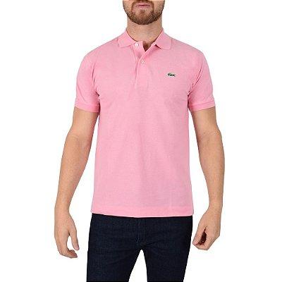 Camisa Polo Lacoste - Rosa Berlingot
